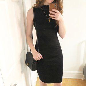 Stunning Zara High Neck Sleeveless Black Dress